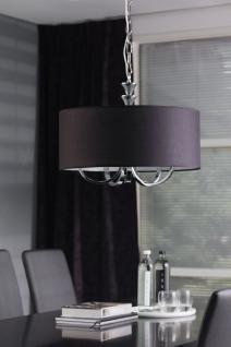 Hängeleuchte fünf flammig mit einem schwarzen Lampenschirm - Vorschau 1