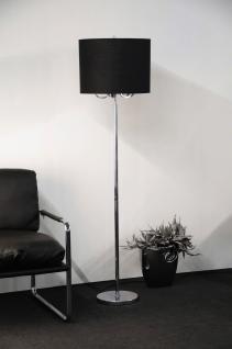 Hängeleuchte fünf flammig mit einem schwarzen Lampenschirm - Vorschau 2