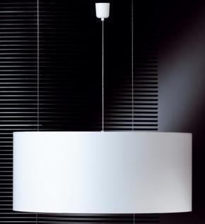 Design Pendelleuchte, mattnickel/chrom, Ø 70 cm - Vorschau