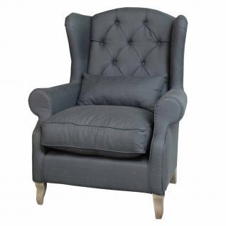 Sessel im Landhausstil in funf Farben - Vorschau 3