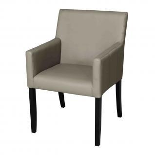 Stuhl mit Armlehne im Landhausstil in fünf Farben