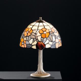 Design Tischleuchte, altmessingfarbig, Ø 25 cm