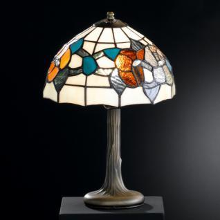 Design Tischleuchte, altmessingfarbig, Ø 26 cm