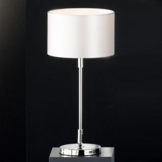 Design Tischleuchte chrom Ø 19 cm - Vorschau