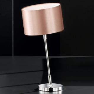 Design Tischleuchte chrom Ø 19 cm