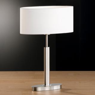 Moderne Stehleuchte mit einem ovalen, weißen Lampenschirm, 157 cm Höhe - Vorschau 2