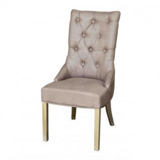 Stuhl im Landhausstil, gepolstert in vier Farben