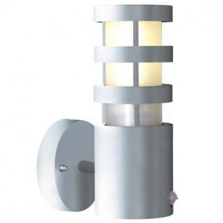 Outdoorleuchte Metall PVC aluminium Bewegungssensor - Vorschau