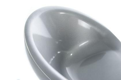 Design Drehstuhl in silber - Vorschau 5