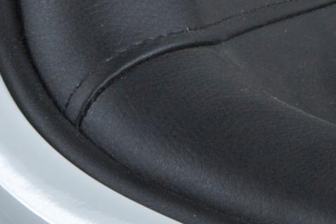 Design Drehstuhl in weiß/schwarz - Vorschau 5