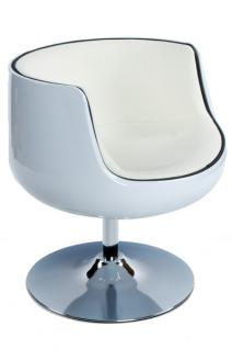 Design Drehstuhl in weiß - Vorschau 1