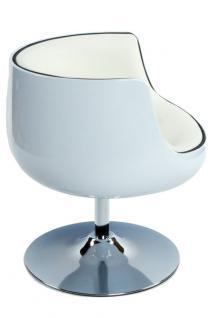 Design Drehstuhl in weiß - Vorschau 4