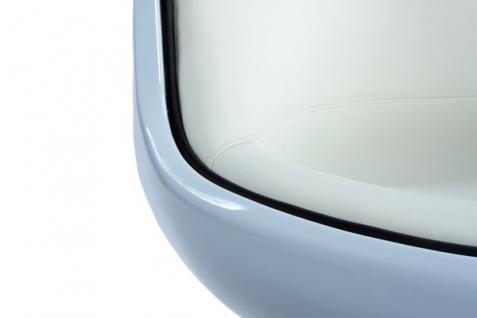 Design Drehstuhl in weiß - Vorschau 3