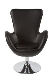 Design Sessel in schwarz - Vorschau 1