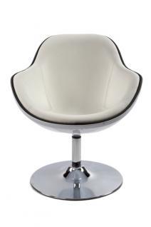 Design Drehstuhl in weiß