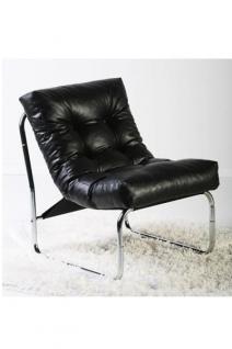 Design Stuhl in schwarz - Vorschau 3