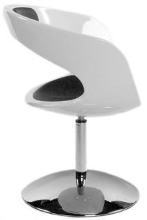 Design stuhl in wei schwarz kaufen bei richhomeshop for Ac design stuhl nora