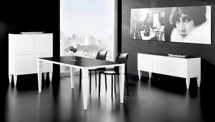 design esstisch farbe schwarz wei kaufen bei richhomeshop. Black Bedroom Furniture Sets. Home Design Ideas