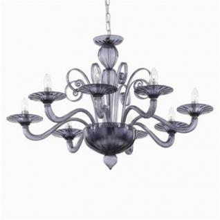 kronleuchter metall chrom glas grau modern kaufen bei. Black Bedroom Furniture Sets. Home Design Ideas