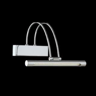 Wandleuchte Metall chrom/ nickel LED - Vorschau