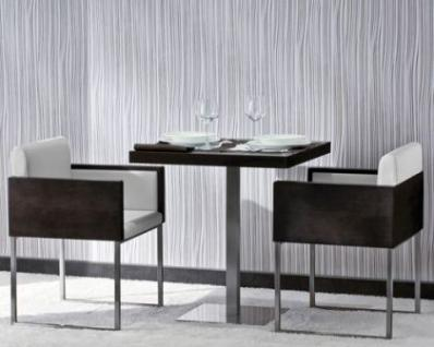 design sessel gepolstert in zwei farben sitzh he 39 cm kaufen bei richhomeshop. Black Bedroom Furniture Sets. Home Design Ideas