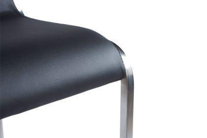 Design Barhocker in schwarz - Vorschau 4