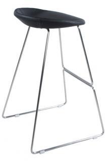 Design Barhocker in schwarz modern - Vorschau 2