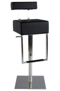 Design Barhocker in schwarz modern
