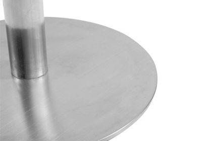 Design Barhocker aus gebürstetem Stahl - Vorschau 2