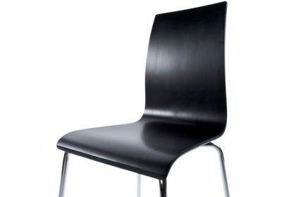 Design Stuhl in schwarz - Vorschau 2