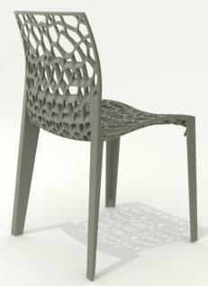 Outdoor Design-Stuhl, Farbe blau - Vorschau 3