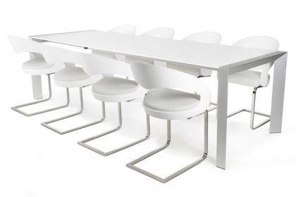 Design konferenztisch modern aluminium l nge for Konferenztisch design