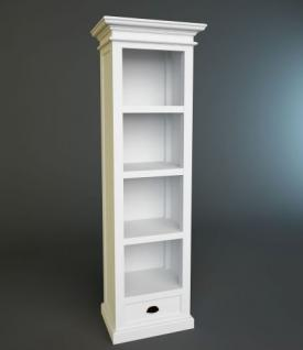 regal b cherregal weiss im landhausstil kaufen bei. Black Bedroom Furniture Sets. Home Design Ideas