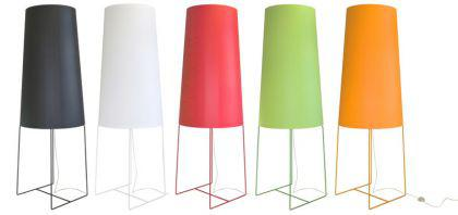 XXL Design-Stehleuchte, moderne Stehlampe in fünf verschiedenen Farben - Vorschau 2