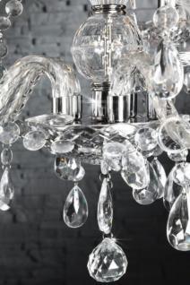 Kronleuchter aus Acrylglas, 5-armig, Farbe transparent, Durchmesser 53 cm - Vorschau 3