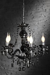 kronleuchter aus acrylglas 5 armig farbe schwarz durchmesser 37 cm kaufen bei richhomeshop. Black Bedroom Furniture Sets. Home Design Ideas