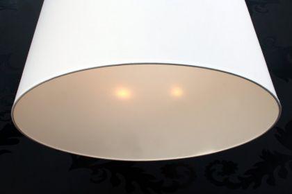 Pendelleuchte mit einem weißem Lampenschirm XXL, Ø 70 cm - Vorschau 4