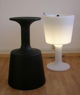 Design Beistelltisch in Weiß, leuchtend Light Drink - Vorschau 2