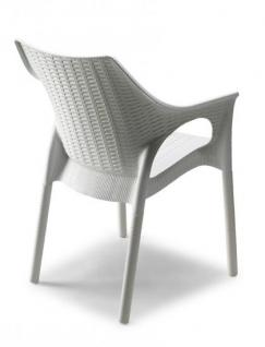 Design stuhl kunststoff anthrazit sitzh he 45 cm for Stuhl design schule