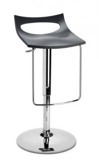 Design Bar-Tresenhocker, Stahl, Chrom, Grün - Vorschau 3