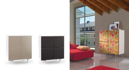 Schrank Artdesign, Highboard in drei Farben, Breite 101 cm