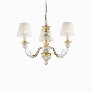 kronleuchter metall harz gold antik wei organza kaufen bei richhomeshop. Black Bedroom Furniture Sets. Home Design Ideas