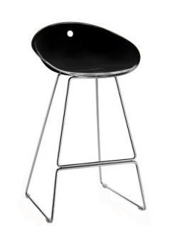 Design Barhocker Farbe schwarz, 65 cm Sitzhöhe