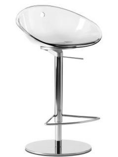 Design Barhocker, höhenverstellbar 60-86 cm