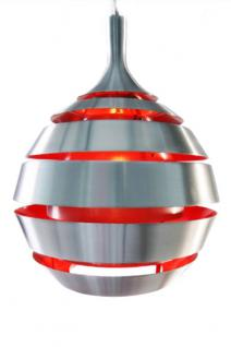 Pendelleuchte Aluminium / Stahl, modern