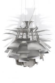 Pendelleuchte in Aluminium, modern