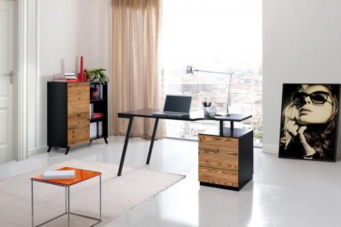 moderner design schreibtisch in zwei farben kaufen bei richhomeshop. Black Bedroom Furniture Sets. Home Design Ideas