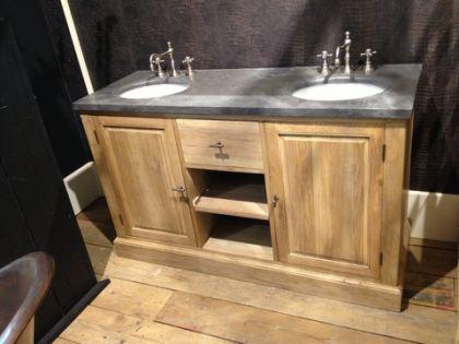 Waschtisch mit unterschrank landhausstil  Badezimmermöbel Landhausstil | gispatcher.com