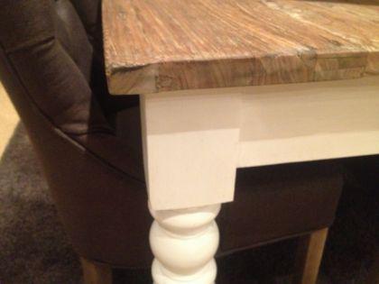 Esstisch im Landhausstil mit zwei Schubladen in 200 cm Länge - Vorschau 2