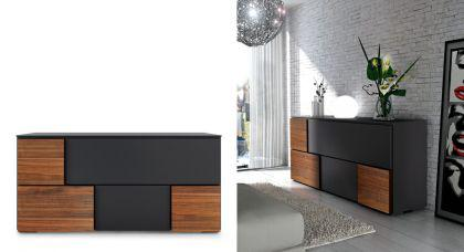 wohnzimmerschrank kommode highboard mit f nf t ren 180 cm breit kaufen bei richhomeshop. Black Bedroom Furniture Sets. Home Design Ideas